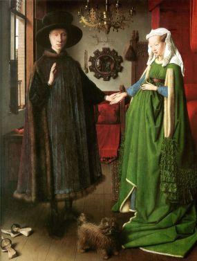 Matrimonio Arnolfini. Van Eik