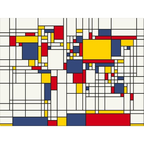 mondrian-style-world-map