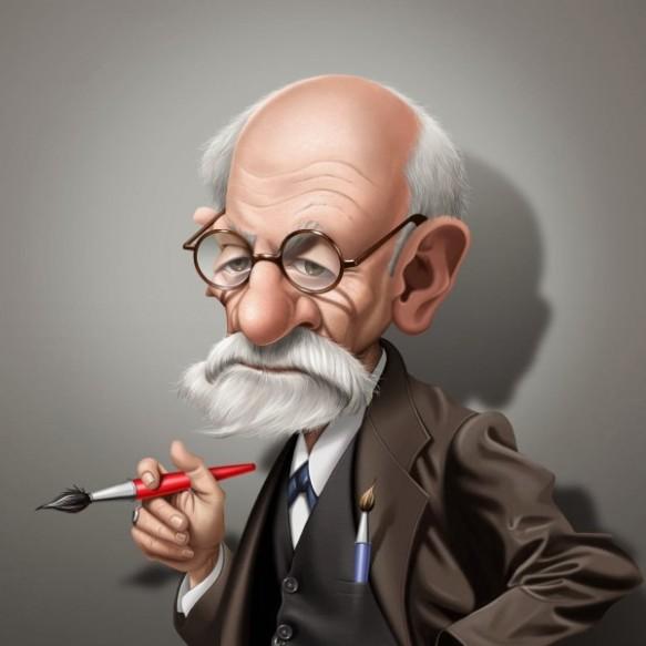 Caricatura-de-Sigmund-Freud-3-600x600